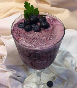 Blueberry Slush Smoothie