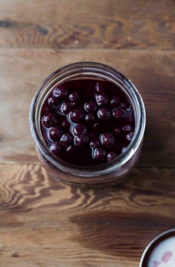 Pickled Georgia Blueberries